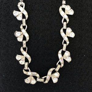 Vintage Rhinestone Necklace.